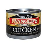Evangers Grain Free 100 Chicken Can Pet Food
