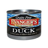 Evangers Grain Free 100 Duck Can Pet Food