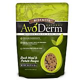 AvoDerm Duck Meal and Potato Biscuit Dog Treat