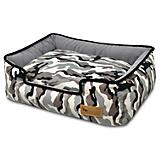 PLAY Camougflage White Lounge Dog Bed