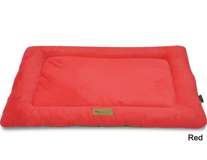 PLAY Chill Pad Red Dog Bed Small