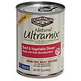 Ultramix Grain Free Beef/Vegetable Can Dog Food