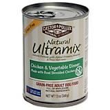Ultramix Grain Free Chicken/Vegetable Can Dog Food