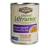Ultramix Chicken/Vegetable/Rice Stew Can Dog Food