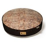 PLAY Savannah Brown Round Dog Bed
