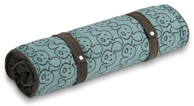 Crypton Dog Eared Kale Dog Travel Mat Medium