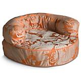 Crypton Melrose Persimmon Bolster Dog Bed