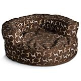 Crypton Rotator Hot Choco Bolster Dog Bed