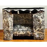 BowhausNYC Toile Dog Crate Cover