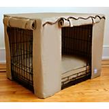 BowhausNYC Latte Dog Crate Cover