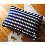 BowhausNYC Nautical Stripe Pillow Dog Bed