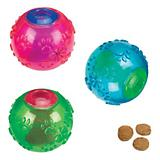 Grriggles FUNdamentals Treat Ball Dog Toy
