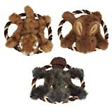 Grriggles Fuzzy Flyer Dog Toy