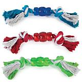 Grriggles Rope n Rubber Bone Dog Toy