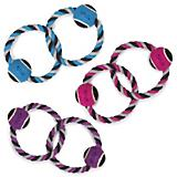 Grriggles Ropes Twin Loop Dog Toy