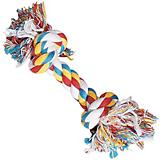 Zanies 2 Knot Big Dog Rope Bone Toy