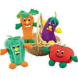 Zanies Giggling Veggie Dog Toy