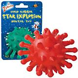 Zanies Hard Rubber Star Explosion Dog Toy