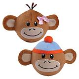 Zanies Monkey Business Squeaker Ball Dog Toy