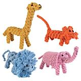Zanies Rope Menagerie Dog Toy
