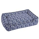 Jax and Bones Waverlee Blue Lounge Dog Bed