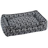 Jax and Bones Waverlee Black Lounge Dog Bed