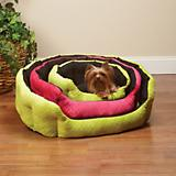 Slumber Pet Reversiable Plush Nest Dog Bed