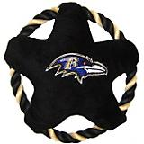 Baltimore Ravens Rope Disk Dog Toy