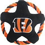 Cincinnati Bengals Rope Disk Dog Toy