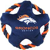 Denver Broncos Rope Disk Dog Toy