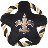 New Orleans Saints Rope Disk Dog Toy