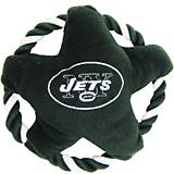 New York Jets Rope Disk Dog Toy