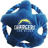 San Diego Chargers Rope Disk Dog Toy