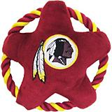 Washington Redskins Rope Disk Dog Toy
