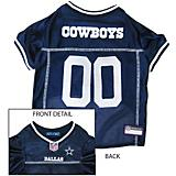 Dallas Cowboys White Trim Dog Jersey