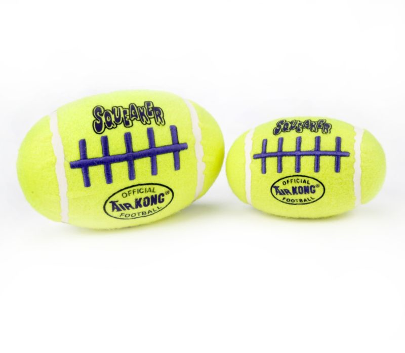 Air Kong Squeaker Football Dog Toy Medium