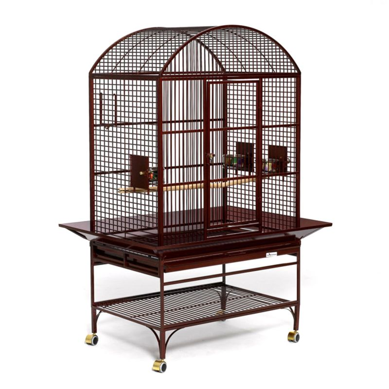 Avian Adventures Mediana Dometop Bird Cage  White