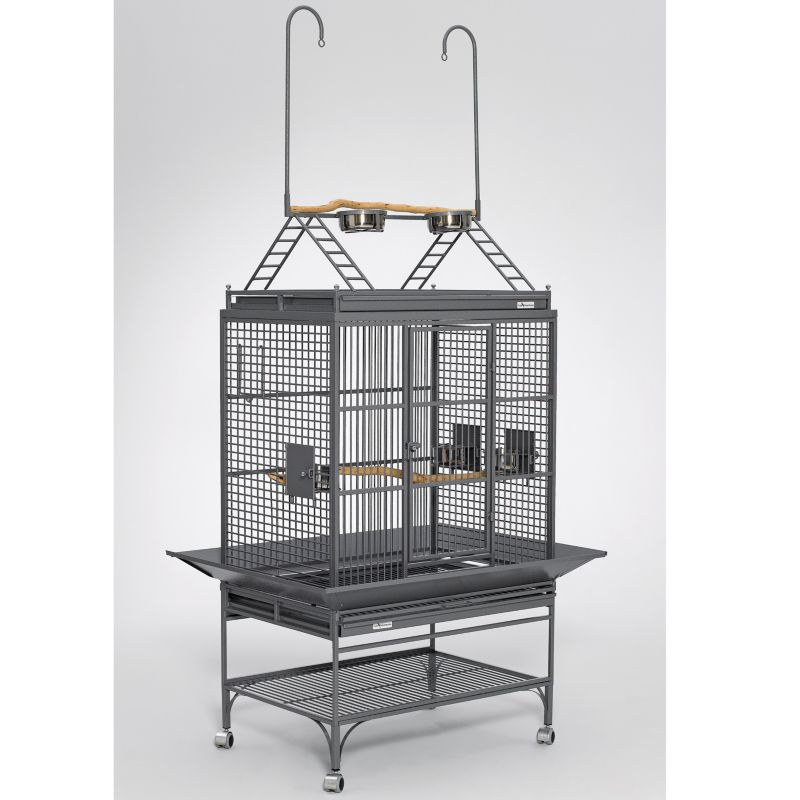 Avian Adventure Mediana Playtop Bird Cage Green