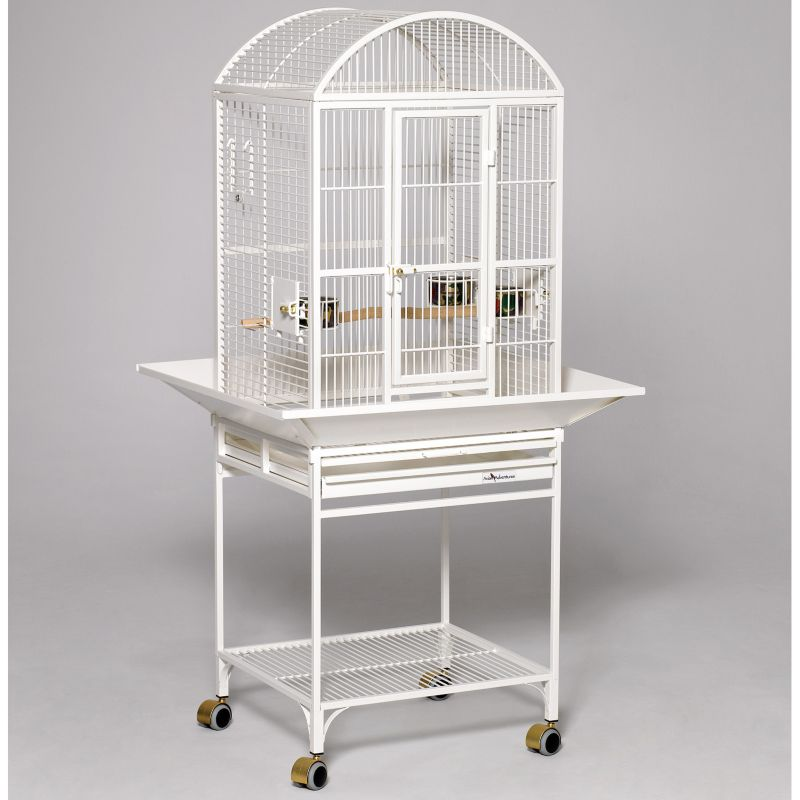 Avian Adventures Nina Dometop Bird Cage White