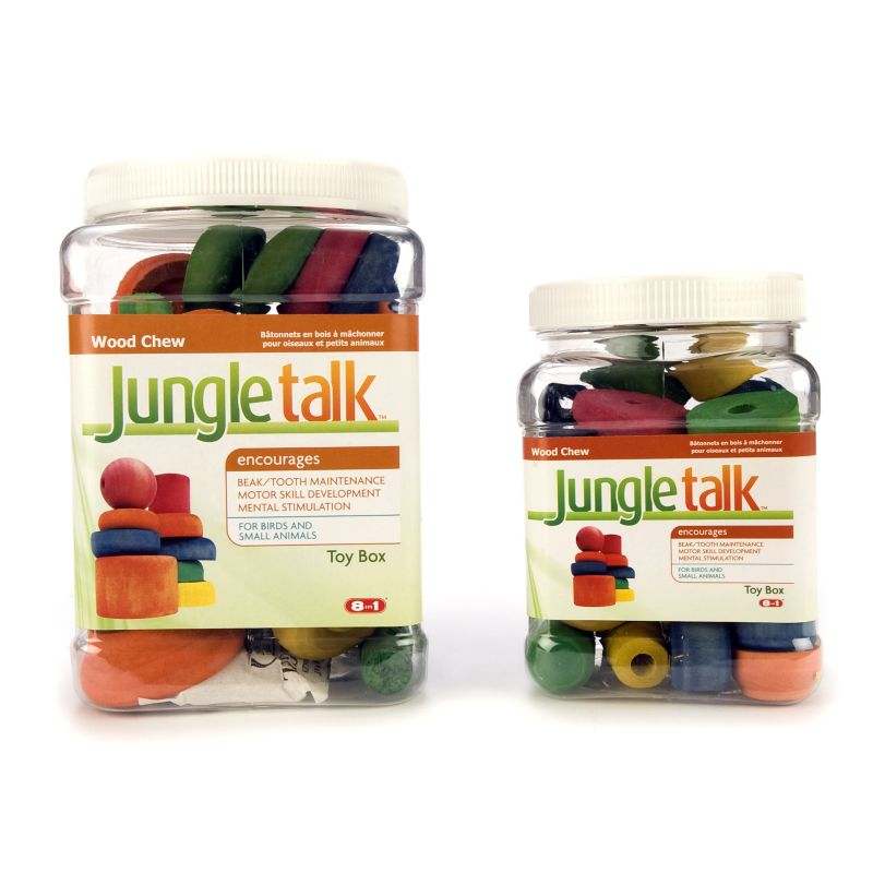 Jungle Talk Toy Box Large