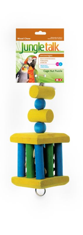 Jungle Talk Cage Nut Puzzle