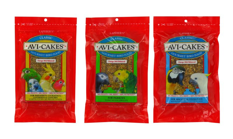 Lafeber Avi Cakes Bird Food Macaw