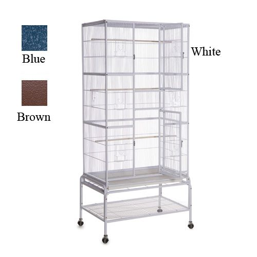Aviantelligence Tall Flight Cage 32x20x71 Blue
