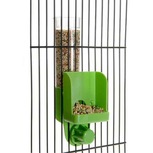 JW Pet Clean Seed Feeder Tall Silo