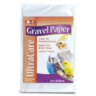 8 in 1 Bird Gravel Paper 8 3/4 X 13 3/8