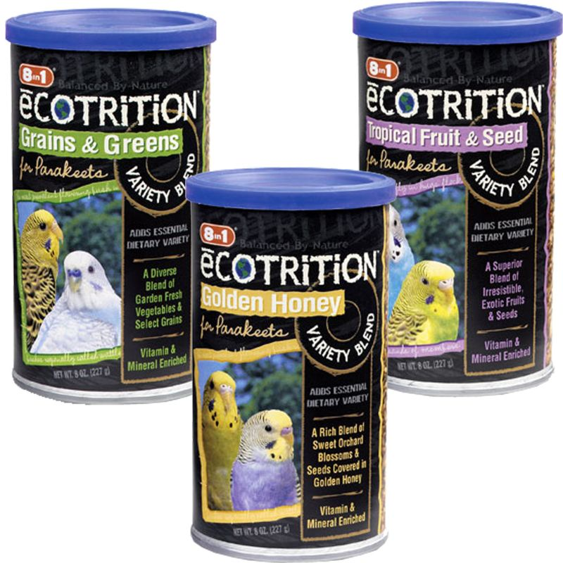 8 in 1 eCOTRITION Parakeet Treat Fruit and Seed Best Price