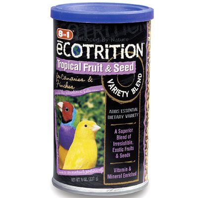 8 in 1 ecotrition canary/finch fruit and seed treat on lovemypets.com