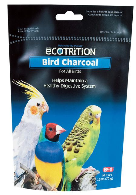 8 in 1 bird charcoal 2.5oz on lovemypets.com