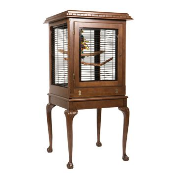 A and E Bentley Bird Cage Mahogany Best Price