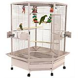 A and E Large Corner Bird Cage